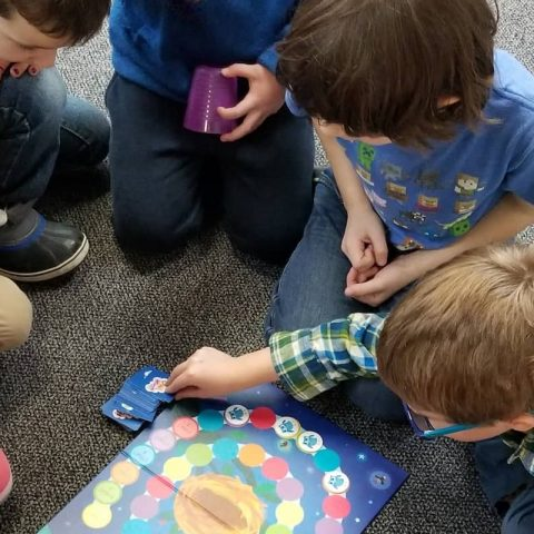 Learning to Cooperate in the K-1 Classroom